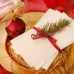 Christmas eve wafer — Stock Photo