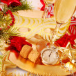 Stock Photo: Few seconds to New Year
