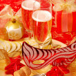 Champagne for New Year — Stock Photo #4483518