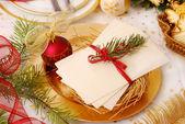 Noel arifesi gofret — Stok fotoğraf