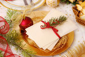 Christmas eve wafer — Zdjęcie stockowe