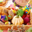 Easter basket — Stock Photo #4581098