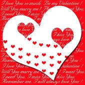 Valentine`s love — Stock Photo