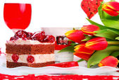 Valentine`s day party — Stock Photo