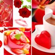 Valentine`s collage — Stock Photo