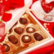 Royalty-Free Stock Photo: Chocolates and coffee for Valentine