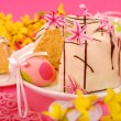Almond ring cake for easter — Stock Photo #4942647