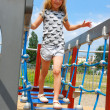Young girl on playground — Stock Photo