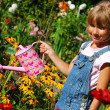 Young gardener — Stock Photo #4957138