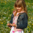 Young girl on meadow — Stock Photo #4957531
