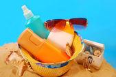 Sun protection — Stock Photo
