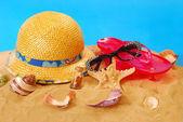 Summer holidays equipment — Stock Photo