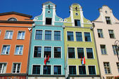 Old town in Gdansk,Poland — Stock Photo
