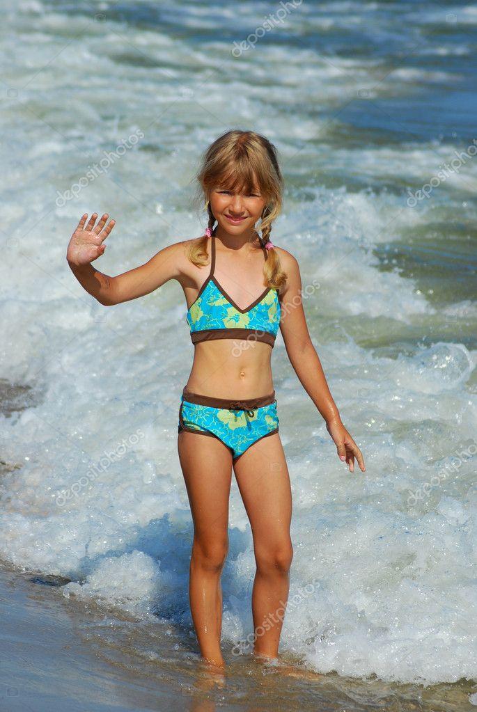 Mädchen Strand