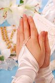 First holy communion-amen — Stock Photo