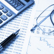Accounting,dual tone — Stock Photo #4448534