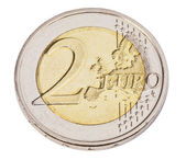 Two euro coin — Stock Photo