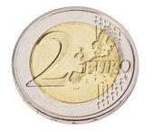 Two euro coin — Stock Photo