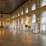 Catherine's Palace hall, Tsarskoe Selo (Pushkin), Russia. — Stock Photo