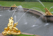 Grand Cascade. Peterhof (Petrodvorets) — Stock Photo