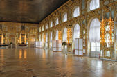 Catherine's Palace hall, Tsarskoe Selo (Pushkin), Russia. — Stock Photo