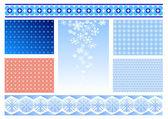 Background for congratulatory cards — Stock Vector