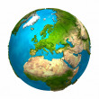 Planet Earth - Europe — Stock Photo