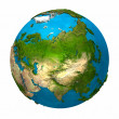 Planet Earth - Asia — Stock Photo