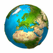 Planet Earth - Europe — Foto de Stock
