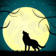 Royalty-Free Stock Vector Image: Wolf