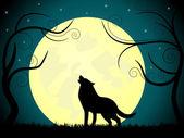 Wolf — Stock Vector