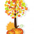 Vector de stock : Thanksgiving background