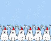 搞笑兔 — 图库矢量图片