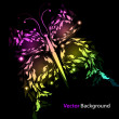 Royalty-Free Stock Imagen vectorial: Butterfly