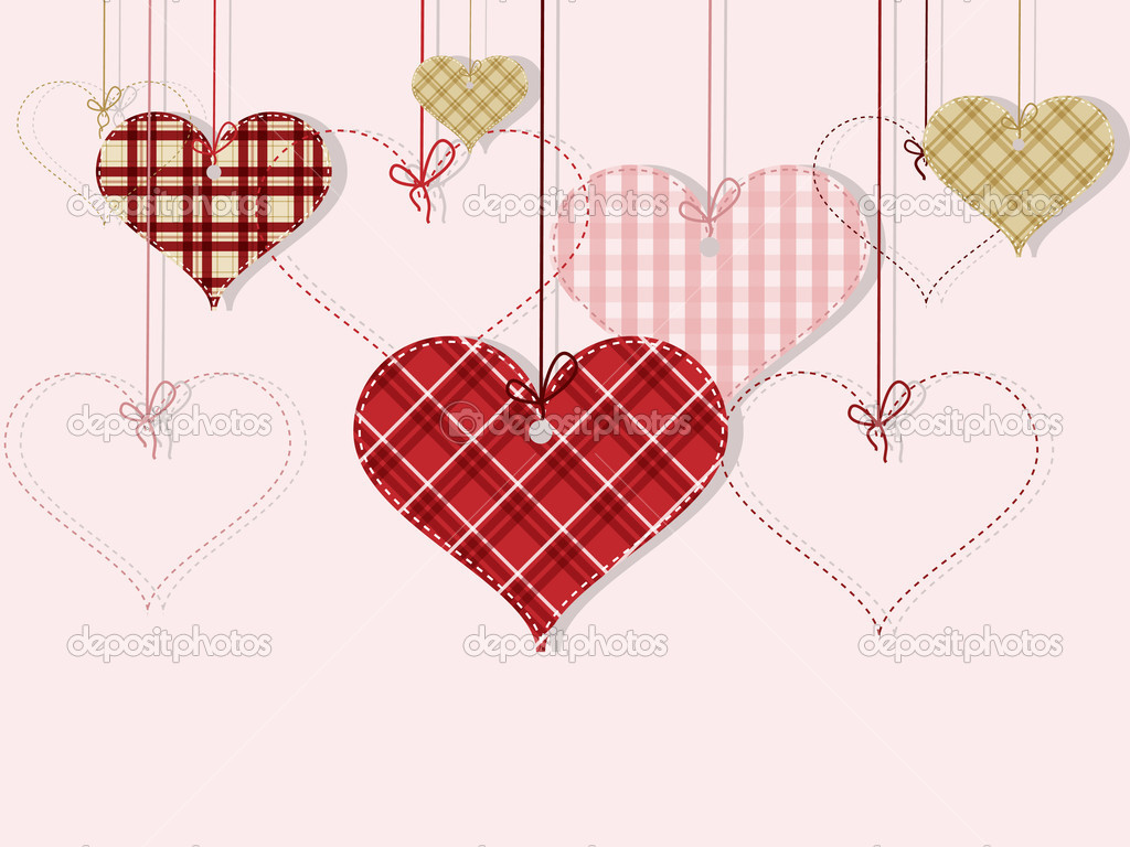 Vector St Valentine day's greeting card — Stock Vector #4738505