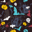 Halloween background — Vector de stock #3979809