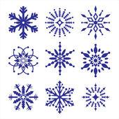 Zestaw śniegu — Wektor stockowy