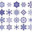 Set of snowflakes — Stock Vector #4416240