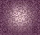 Seamless damask wallpaper — Vector de stock