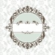 Vector de stock : Decorative vintage frame
