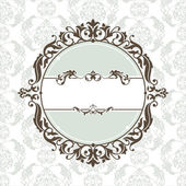 Decorative vintage frame — Vector de stock