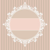 Decorative vintage frame — Vettoriale Stock