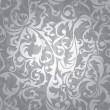 Seamless floral background - Imagen vectorial