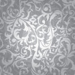Seamless floral background - Stock vektor
