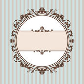 Decorative vintage frame — Vecteur