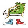 Royalty-Free Stock Vector Image: Vector sneakers