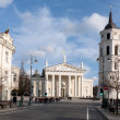 Stock Photo: Cathedral Square in Vilnius