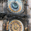 Famous astronomical clock Orloj in Prague, — Stockfoto