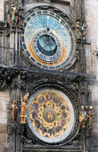 Famous astronomical clock Orloj in Prague, — Stock Photo