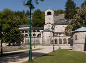 Monastery of Cetinje — Stock Photo